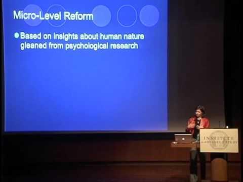 Behavior Change as a Psychological Enterprise - Deborah Prentice