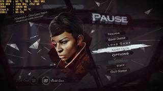 Dishonored  Death of the Outsider - 2K GTX 1070 @1440p performance test - Ultra settings