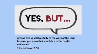 12 July TBC Sermon