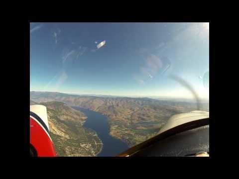 RV10 Flight Paine Field to Calgary