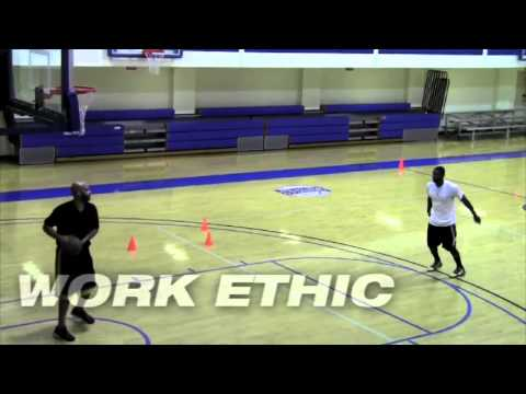 Taquan Dean and Tim Gray Basketball Workout