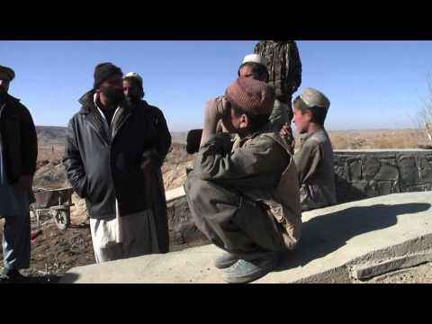 Reconstruction Team Gains Trust in New Areas in Paktika Province