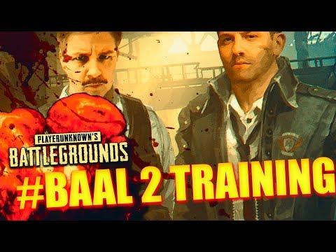 PLAYERUNKNOWN'S BATTLEGROUNDS - TRAINING für #BAAL 2