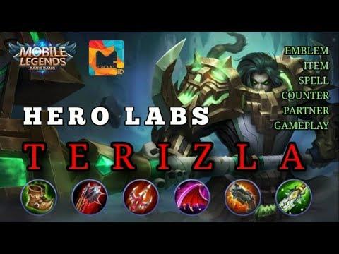 Tutorial ITEM TERSAKIT TERIZLA - Emblem Spell Counter Partner Gameplay - MGL Indonesia