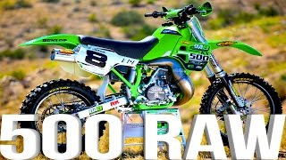 Kawasaki KX500 2 Stroke RAW featuring Destry Abbott - Dirt Bike Magazine