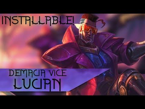Demacia Vice Lucian: Custom Voice