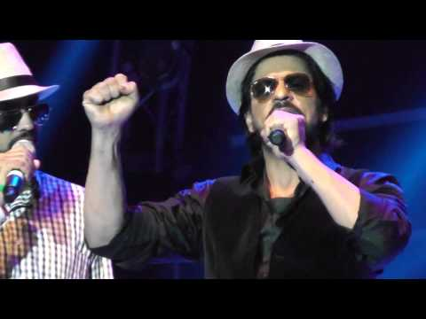 02 12 2013 Dubai Cricket Stadium, Live Concert SRK (part 4) Travel Video