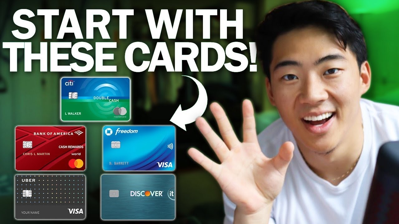 TOP NEW 5 BEST Credit Cards for Beginners (2019)