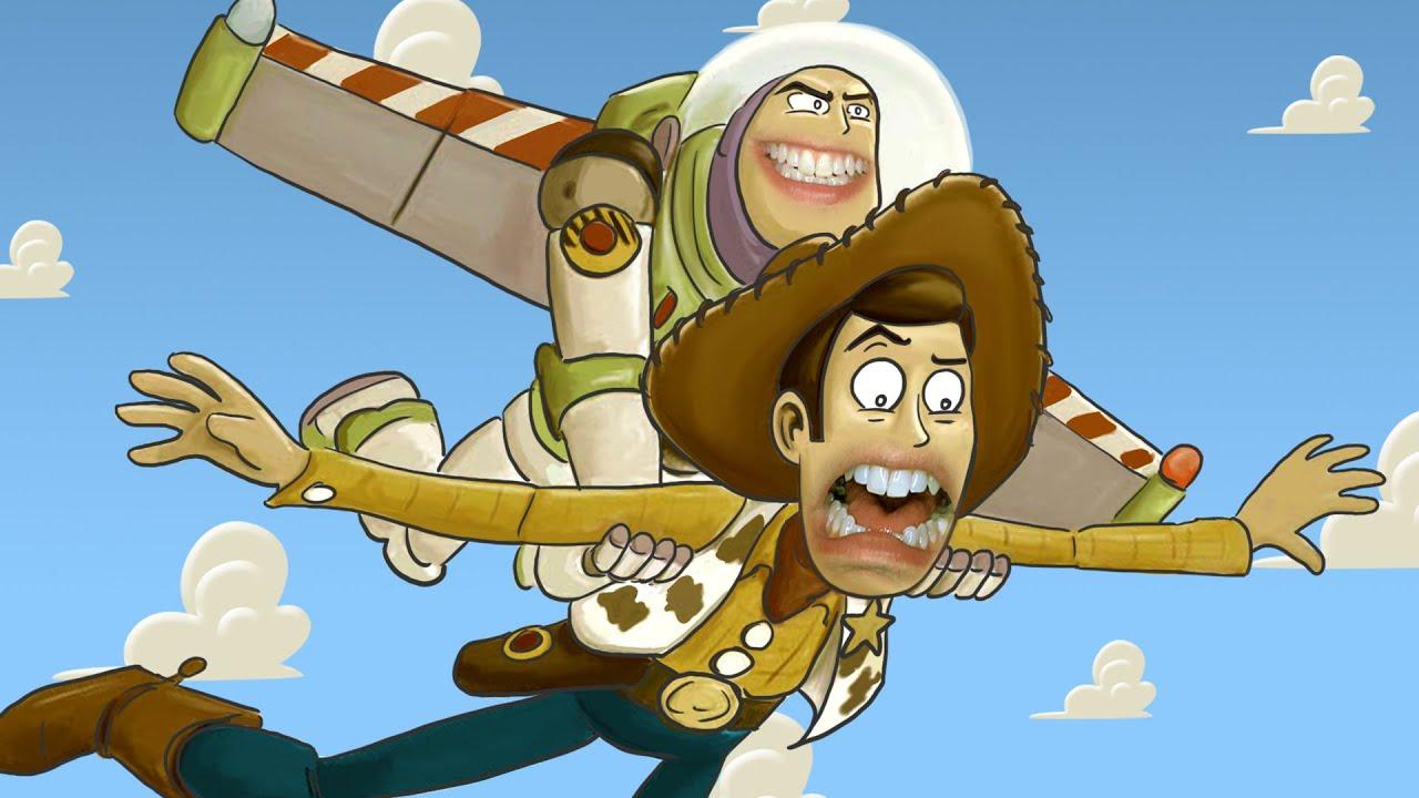 HISHE Dubs - Toy Story (Comedy Recap)
