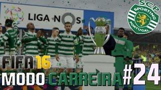 FIFA 16 Sporting Modo Carreira #24 - ÚLTIMO EPISÓDIO (1ªÉpoca)