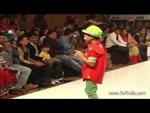 India Kids Fashion Week Ramp Walk