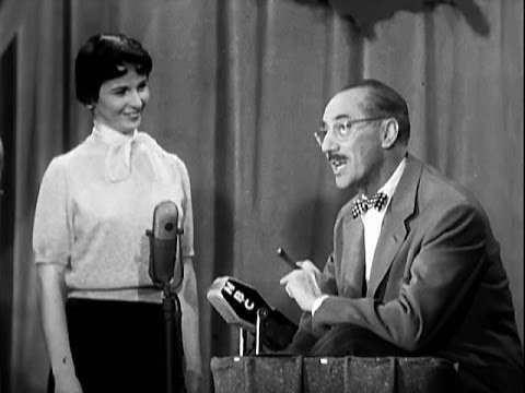 You Bet Your Life #53-16 Groucho sings Scottish folk music