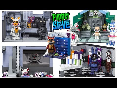 Five Nights at Freddy's Series 4 McFarlane Toys Construction Wave set Fnaf Preview Photos Pt. 1 2018