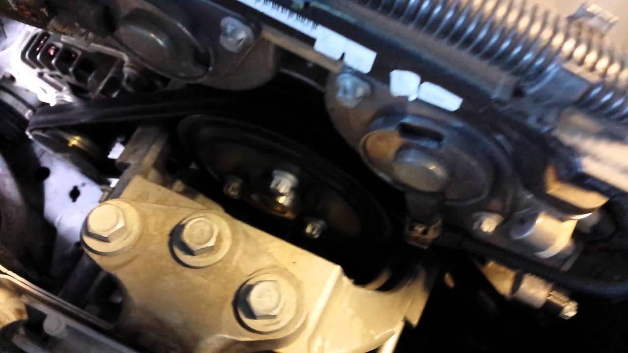 Chevrolet Sonic Repair Manual: Timing Belt Tensioner Installation