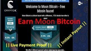 moon bitcoin faucet payout