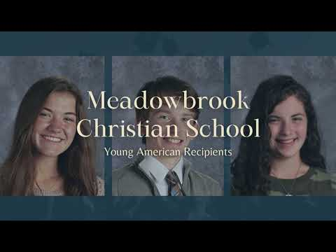 Meadowbrook Christian School - 2021 Young Americans Recognition