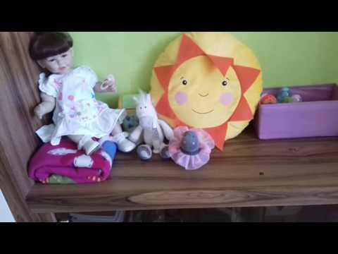 Как сделать уголок для реборна/Как сделать пеленальный столик для куклы