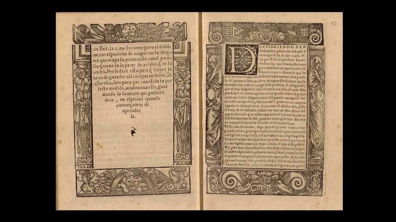 El arte de escribir, de Juan de Ycíar