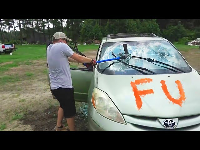 Destroying My Friend's Car And Surprising Him With A New One - Slime