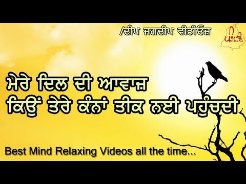 Heart Touching Words By A Girl To Boy   Best Love Shayari   Punjabi Poetry By Punjabi Sahitak Manch