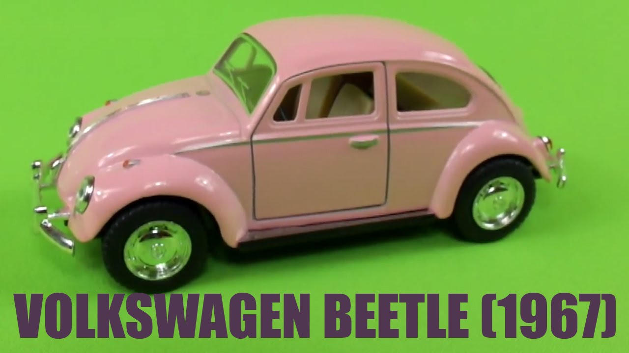 Red VW beetle toy car - YouTube
