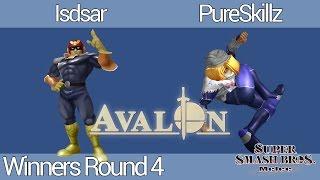 Avalon M-VIII | Isdsar (Cpt. Falcon) vs. PureSkillz (Sheik) | Winners Round 4
