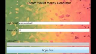 Steam Wallet Money Hack Free