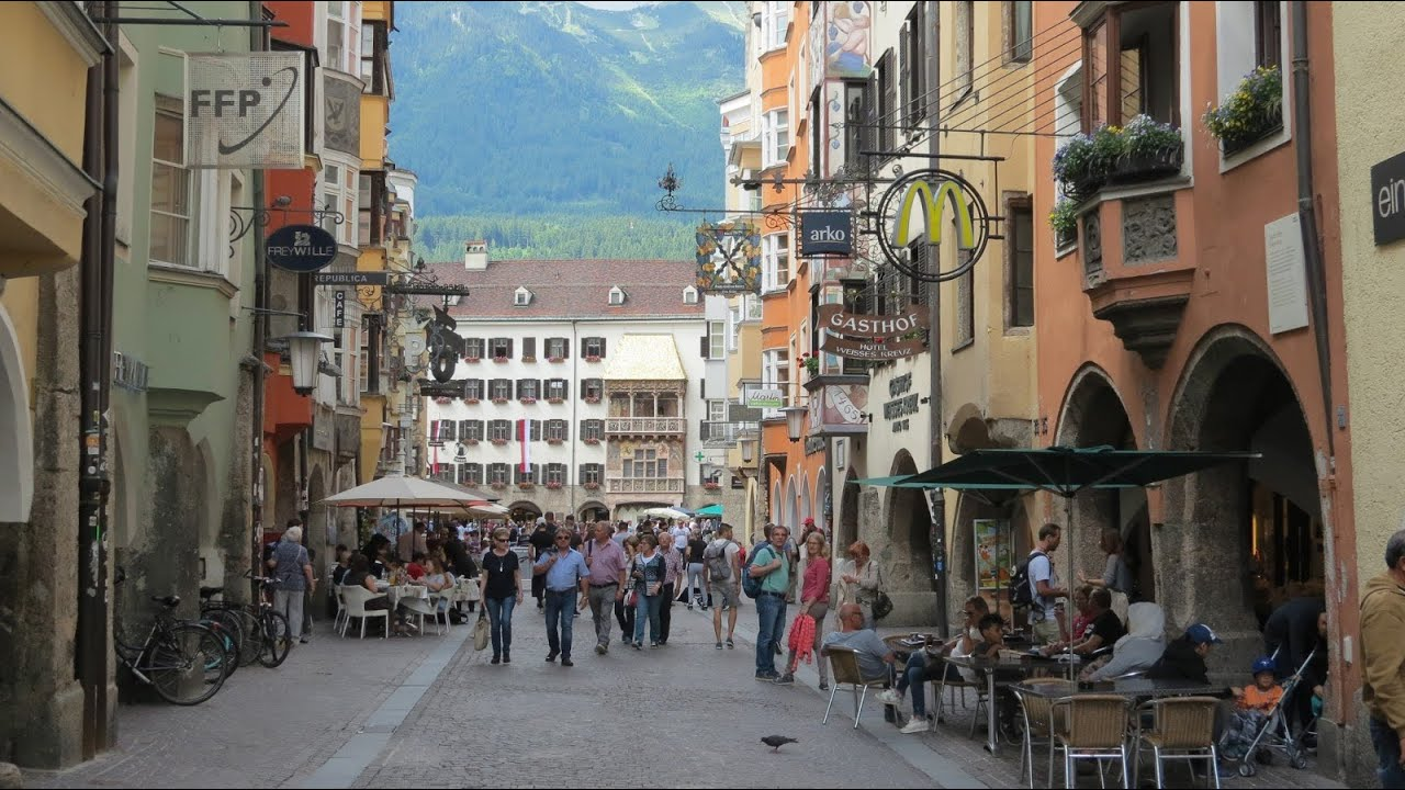 Golden Roof Innsbruck Austria & Golden Roof Innsbruck Austria - YouTube memphite.com