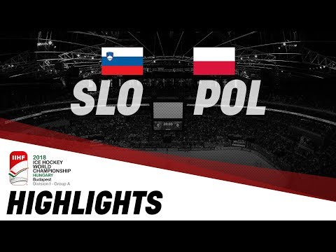 Slovenia - Poland | Highlights | 2018 IIHF Ice Hockey World Championship Division I Group A