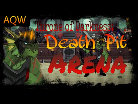 AQW Throne Of Darkness: Deathpit Arena Event