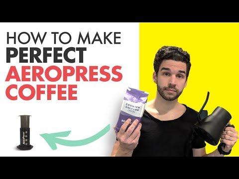 How to Make Perfect AEROPRESS COFFEE  | 9 Easy Steps
