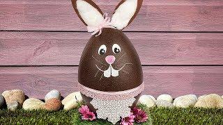 Ideen mit Herz - XXL-Styropor-Hase basteln - DIY-Deko zu Ostern - Osterhase - Easter bunny tutorial