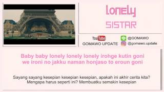 LIRIK SISTAR - LONELY by GOMAWO [Indo Sub]