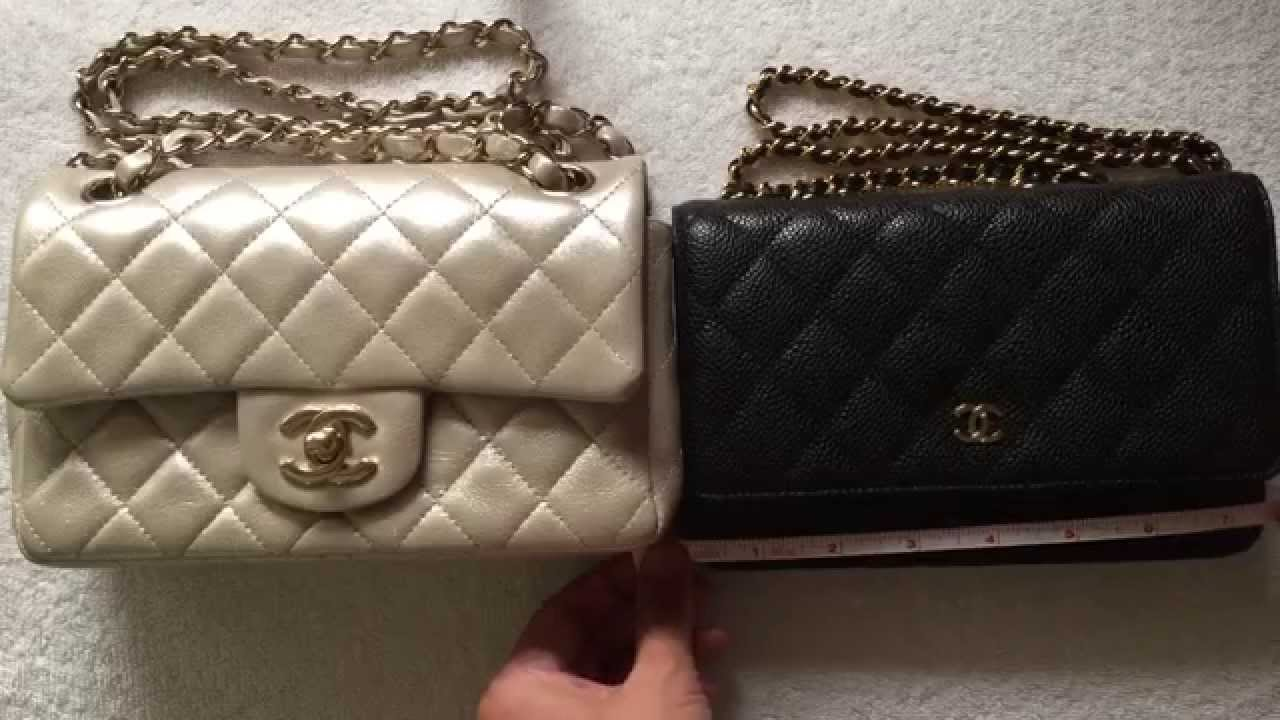 Mini Vs Woc Chanel Mini Vs Woc Review Comparison