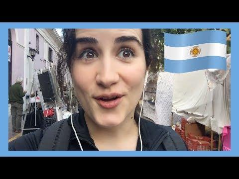 ¡Un domingo en BUENOS AIRES!   Vlog en Argentina 🇦🇷