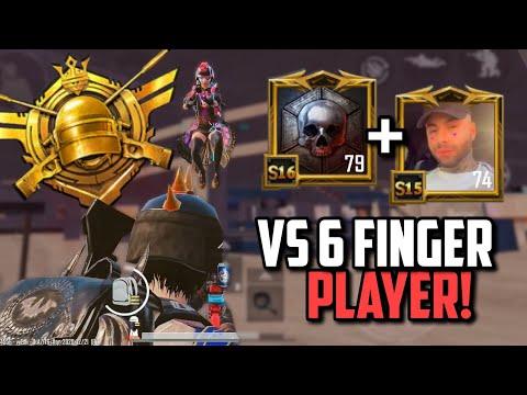 WHEN CONQUEROR CLAN PUSHES SIX FINGER PLAYER! | PUBG Mobile