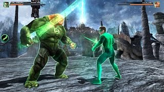 Green Lantern Combat Level 2 GamePlay [HD]