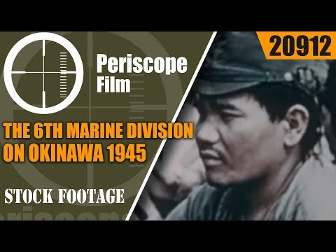 THE 6th MARINE DIVISION ON OKINAWA 1945 PACIFIC CAMPAIGN WORLD WAR II 20912
