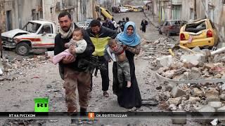 Трагедия на бумаге: RT пообщался с художником, запечатлевшим картину разрушенного Мосула