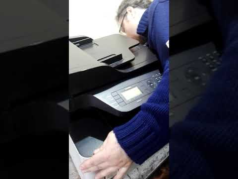 Samsung CLX 4195NF нет цветной печати