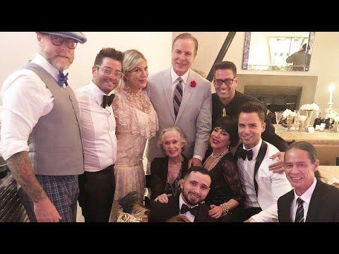 Actress Tori Spelling & Josh Flagg from Million Dollar Listing