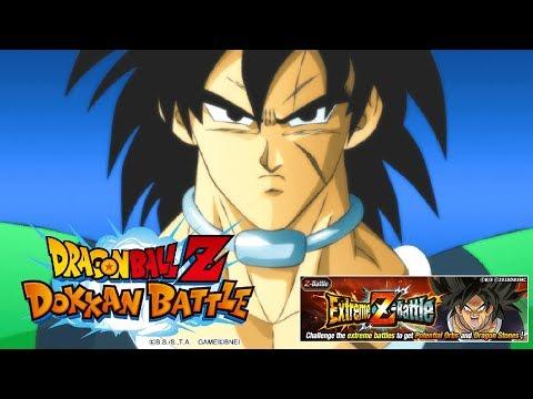 DRAGON BALL SUPER BROLY EXTREME Z BATTLE IS LIVE! | Dragon Ball Z Dokkan Battle