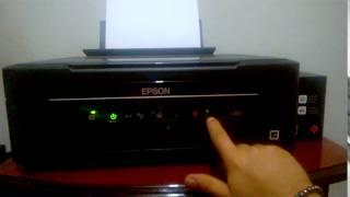 Epson L355 Alerta de tinta Corrigido