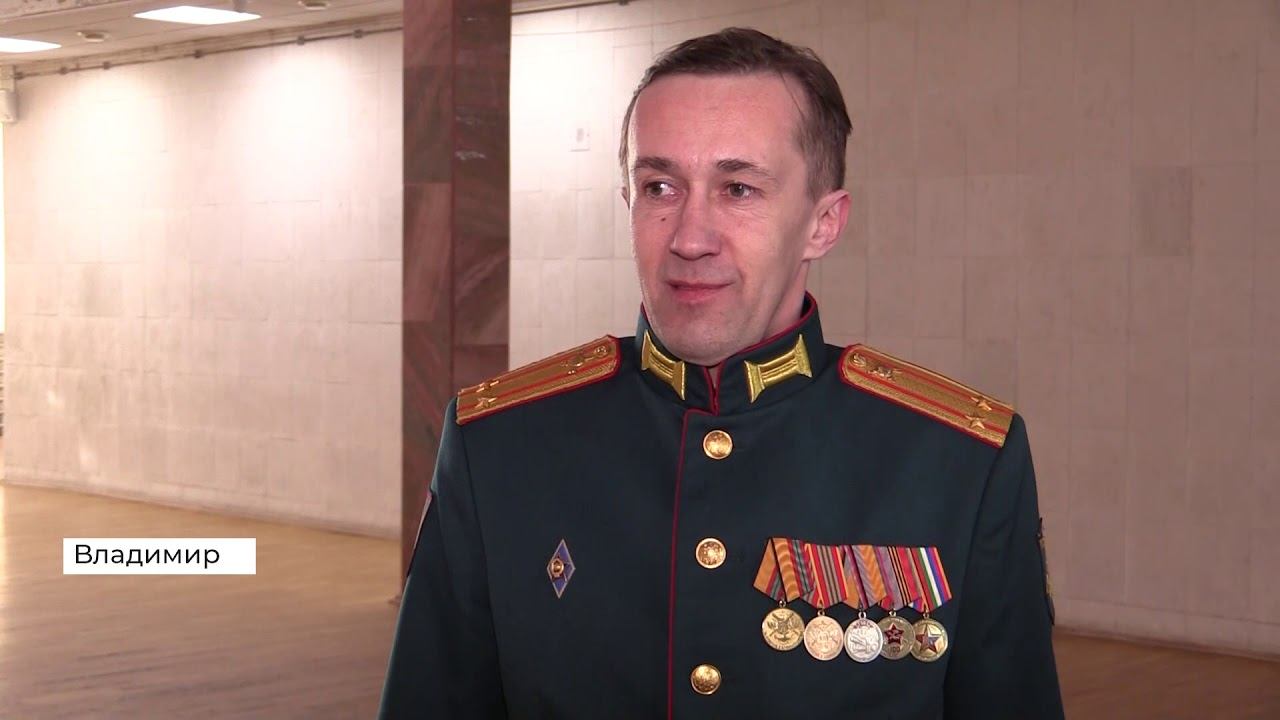 Большой концерт в честь Дня защитника Отечества во Владимире (2021 02 20)