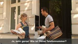 Deutsch lernen mit Videos / Learn German with videos!(Lerne Deutsch mit LinguaTV.com / Learning German with LinguaTV ( http://www.LINGUATV.com/courses.html ) is easy and effective! Join Katja and Alexander ..., 2008-09-24T18:57:42.000Z)