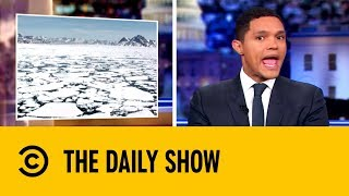 The Russians Are Calling Dibs on the Arctic | The Daily show with Trevor Noah thumbnail