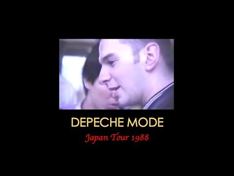 Depeche Mode Japan 1988 - Private Film On The Band - Full Version