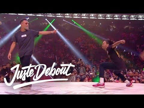 Juste Debout  Hip Hop Final 2017: Majid & Ukay VS Stylez C & Diablo