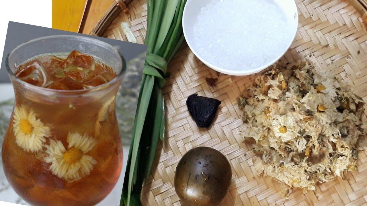 Cách nấu SÂM BÔNG CÚC/HOA CÚC  thanh nhiệt giải khát mùa nắng nóng |Thanh Tâm Food