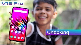 Vivo V15 Pro Unboxing in Hindi (Ruby Red, 6 GB, 128 GB)